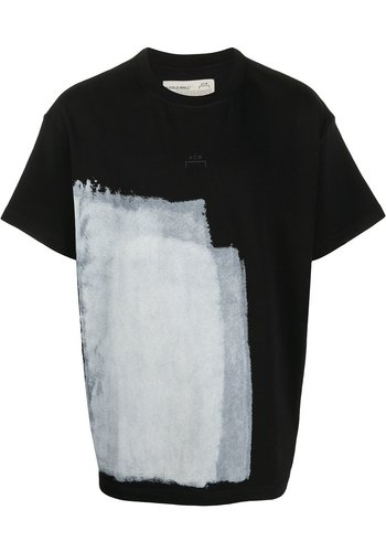 A-COLD-WALL* block painted t-shirt black