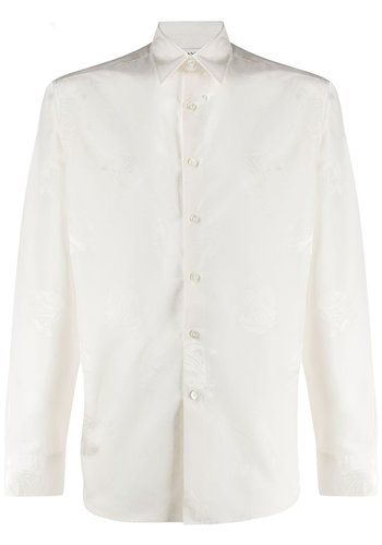 LANVIN straight shirt adjustable cuffs white