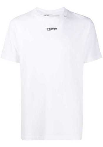 OFF-WHITE caravaggio arrow s/s slim tee white