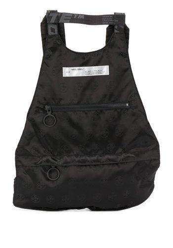 OFF-WHITE monogram backpack black