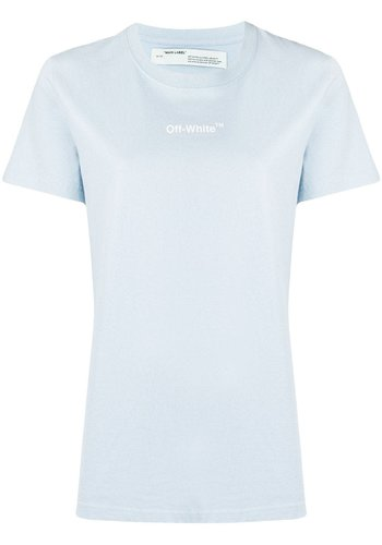 OFF-WHITE arrow sketch casul tee pale blue