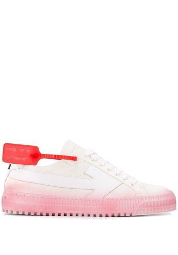 OFF-WHITE degradé arrow sneaker white fuchsia