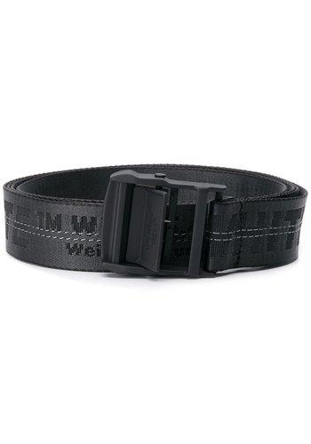 OFF-WHITE classic industrial belt black
