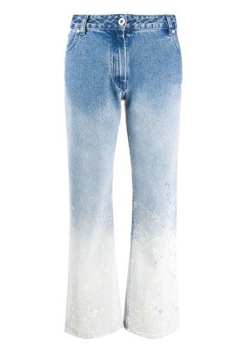 OFF-WHITE shape baggy bleach