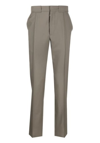 MAISON MARGIELA slimfit trousers khaki