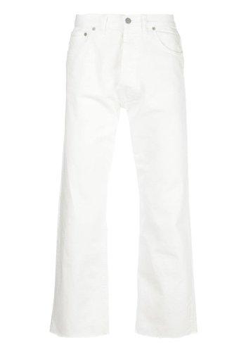 MAISON MARGIELA straight jeans white