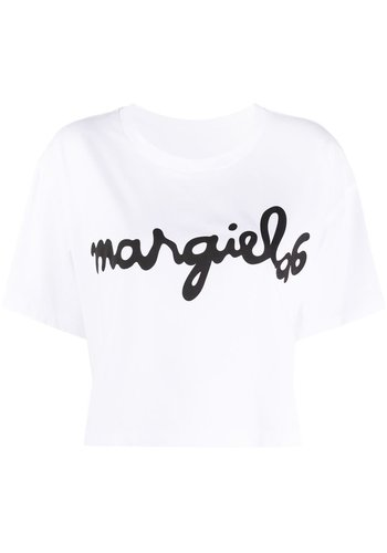 MM6 MAISON MARGIELA logo tee white