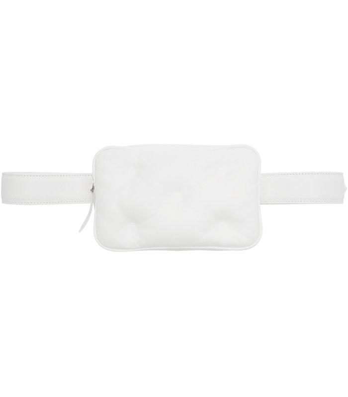 GLAM SLAM BELT BAG WHITE