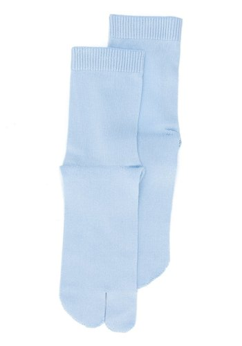 MAISON MARGIELA tabi socks light blue