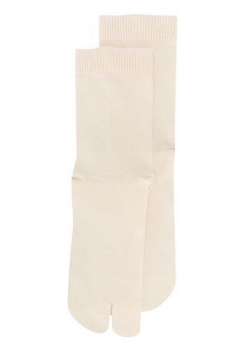 MAISON MARGIELA tabi socks beige
