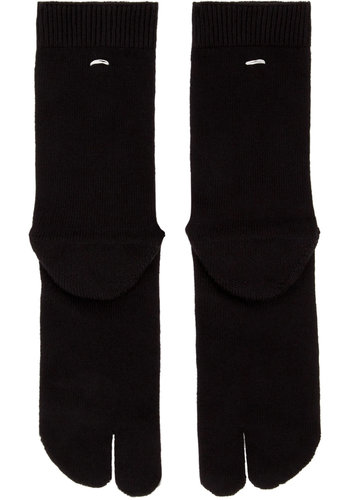 MAISON MARGIELA tabi socks black