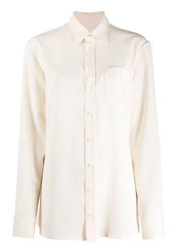 MAISON MARGIELA long blouse ecru