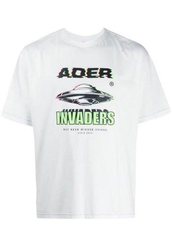 ADER ERROR t-914 spaceship t-shirt ivory