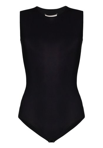 MAISON MARGIELA body black sleeveless