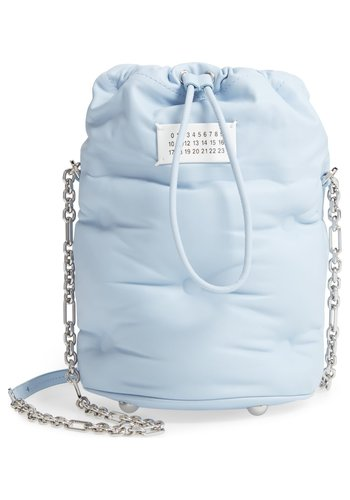 MAISON MARGIELA glam slam bucketbag sea