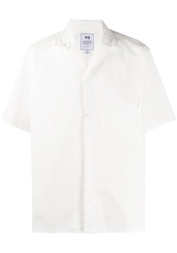 Y-3 short sleeve shirt white