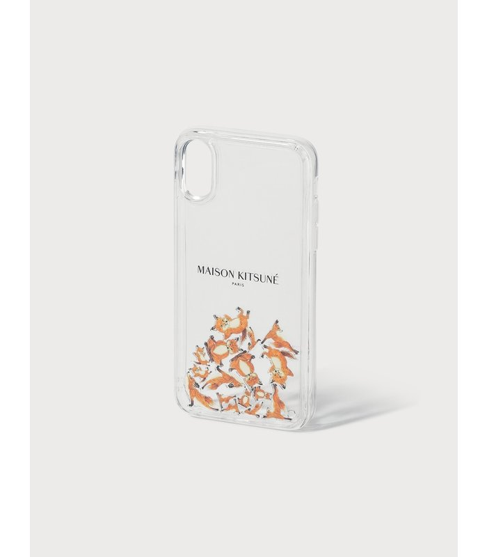 Aqua Yoga Fox iPhone X Case