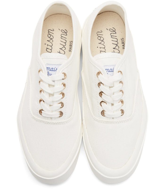 LOW-TOP SNEAKERS WHITE
