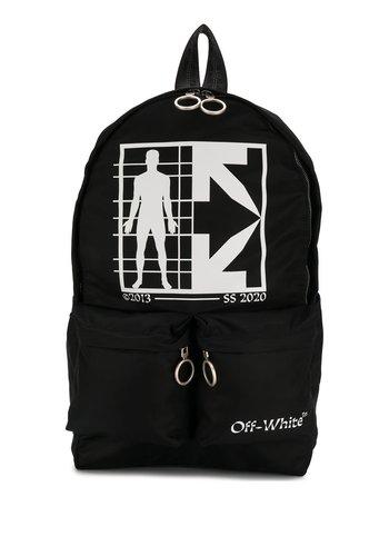 OFF-WHITE half arrow man backpack black