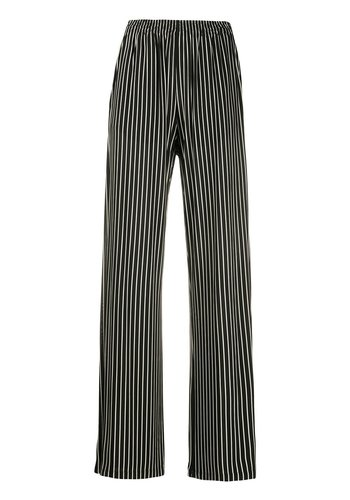 MM6 MAISON MARGIELA striped pants white/black