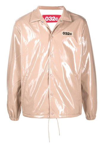 032C patent jacket with patches logo and emb