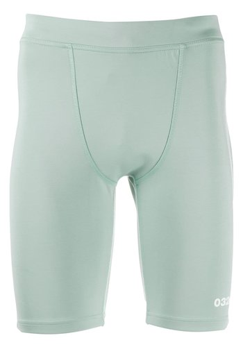 032C tight neoprene shorts with logo print mint