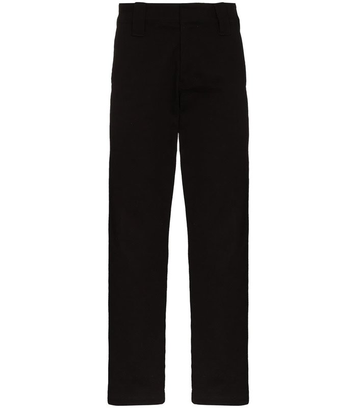 STRAIGHT FIT PANTS BLACK
