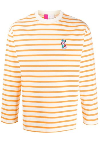 ACIDE MAISON KITSUNÉ marin tee-shirt acide orange white