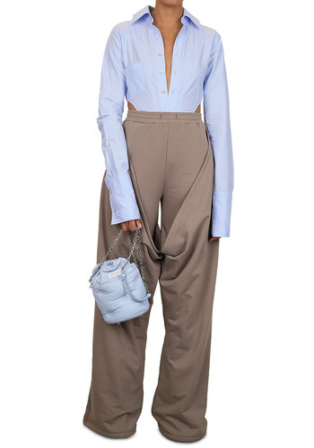 NINAMOUNAH justice trousers taupe