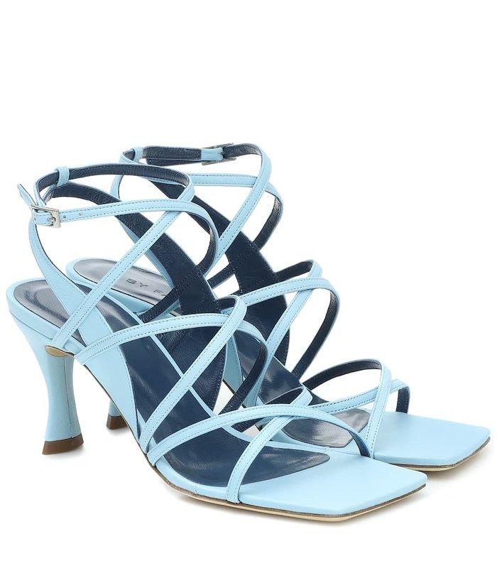 Christina Baby Blue Leather