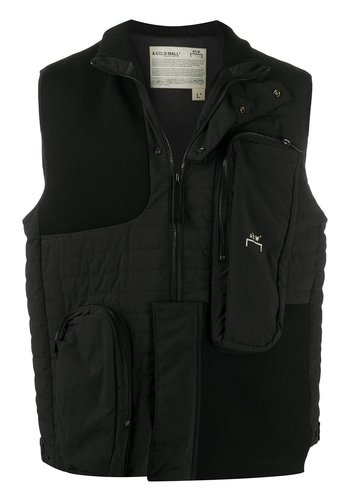 A-COLD-WALL* padded pocket rib gilet