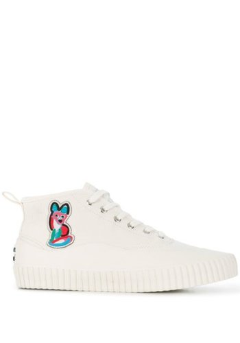 ACIDE MAISON KITSUNÉ high-top sneaker acide patch