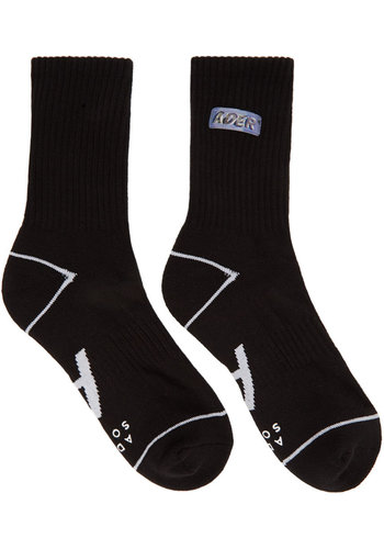 ADER ERROR small lenticular logo socks
