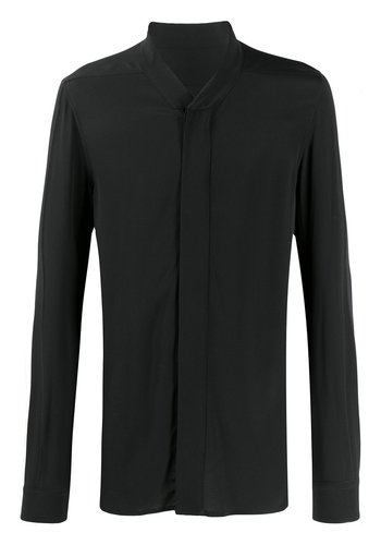 RICK OWENS faun shirt black