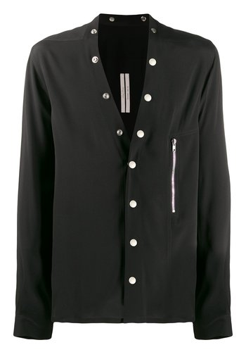 RICK OWENS larry shirt black