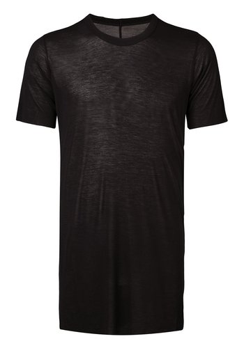 RICK OWENS knit t-shirt basic ss tee black
