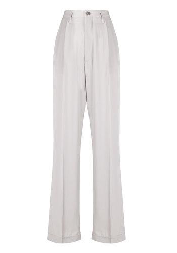 MAISON MARGIELA high waisted trousers grey