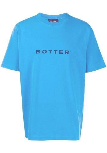 BOTTER short-sleevebotter t-shirt blue pigment dye