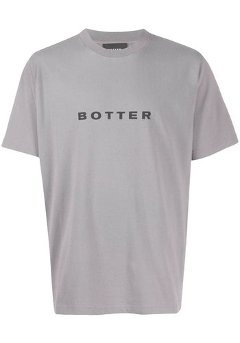 BOTTER short-sleevebotter t-shirt grey pigment dye