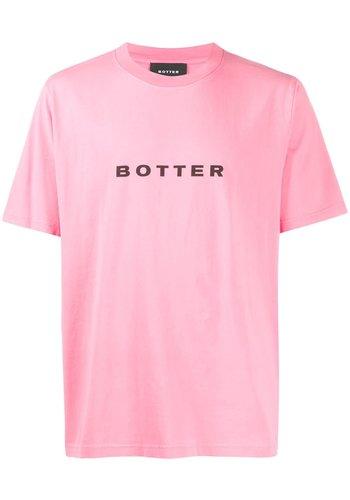 BOTTER short-sleevebotter t-shirt pink pigment dye