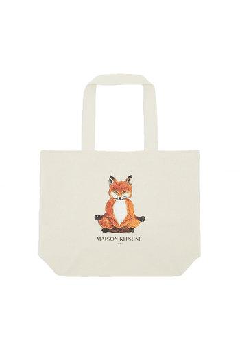 MAISON KITSUNE tote bag lotus fox