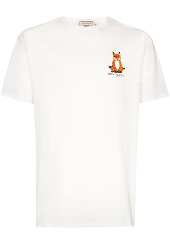 MAISON KITSUNE tee-shirt lotus fox