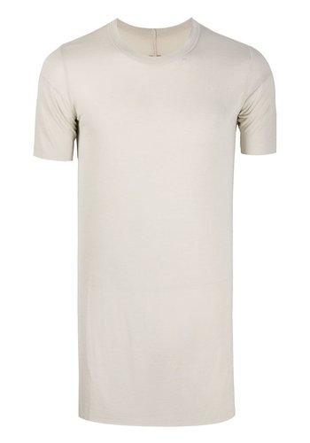 RICK OWENS knit t-shirt basic ss tee pearl