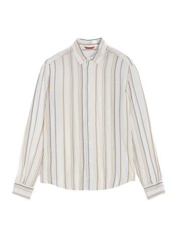 BARENA shirt coppi bambu white