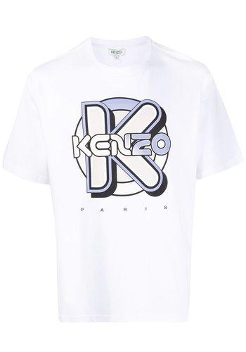 KENZO wetsuit t-shirt white