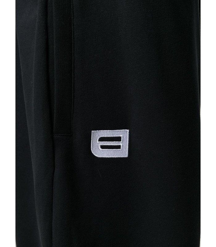 SWEATPANT SWEATER ZIPPED BLACK