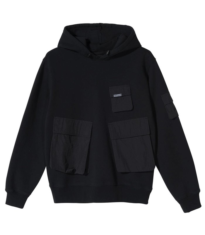 Cargo Fleece Hood BLACK