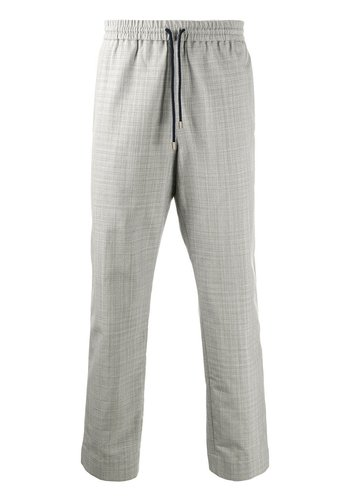 KENZO tapered trousers light grey
