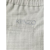 tapered trousers LIGHT GREY
