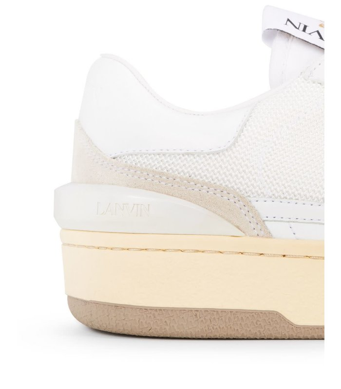 LEATHER CLAY LOW-TOP SNEAKERS